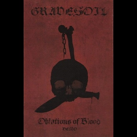 Gravesoil - Oblations of Blood, Tape