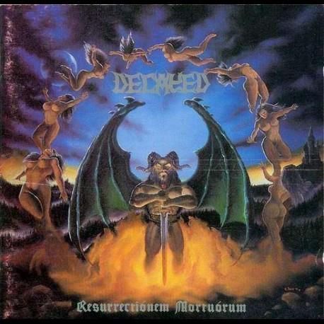Decayed - Resurrectionem Mortuorum, CD