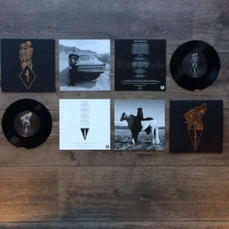 King Dude / (DOLCH) - Split, EP (black edition)