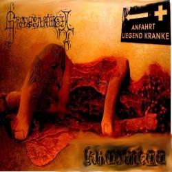 Grausamkeit / Khaomega - Anfahrt liegend Kranke, CD