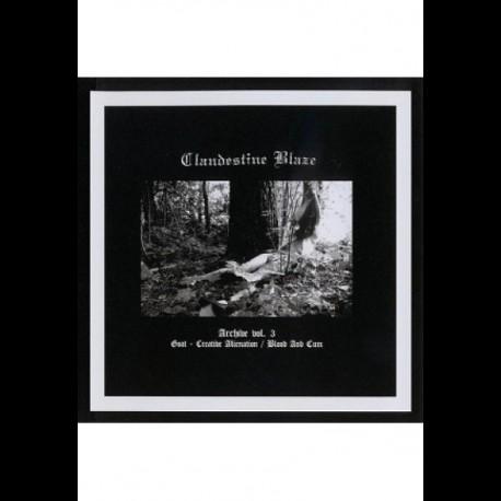 Clandestine Blaze - Archive vol. 3, CD