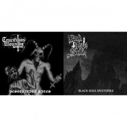 Black Priest of Satan / Crucifixion Wounds - Split, EP