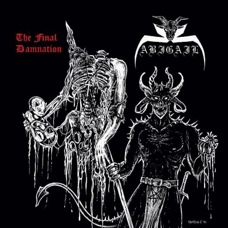 Abigail - The Final Damnation, CD