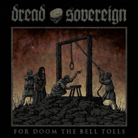 Dread Sovereign - For Doom the Bell Tolls, LP (red)