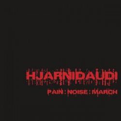 Hjarnidaudi - Pain:Noise:March, LP (Corner Bend)