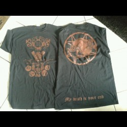 Saqra's Cult - My Death is your End, Shirt (XL)