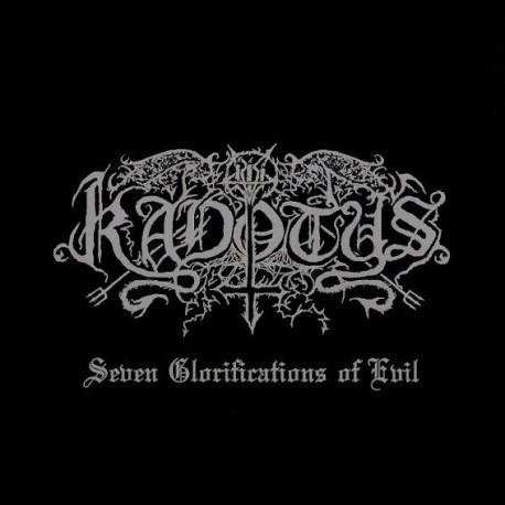 Kadotus - Seven Glorifications of Evil, CD