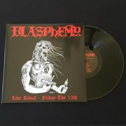 Blasphemy - Live Ritual - Friday the 13th, LP