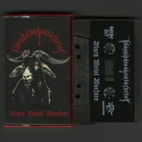 Blasphamagoatachrist - Black Metal Warfare, Tape