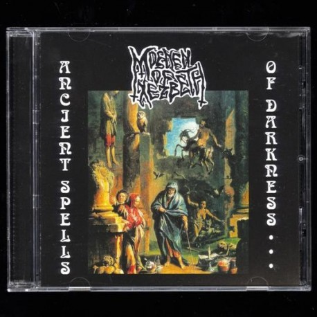 Moenen of Xezbeth - Ancient Spells of Darkness... + Bonus, CD
