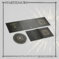 Svartidaudi - Revelations of The Red Sword, Digi CD