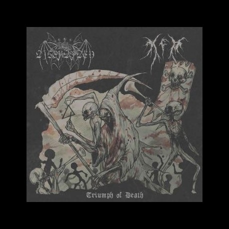 Digerdöden / K.F.R - Split, EP