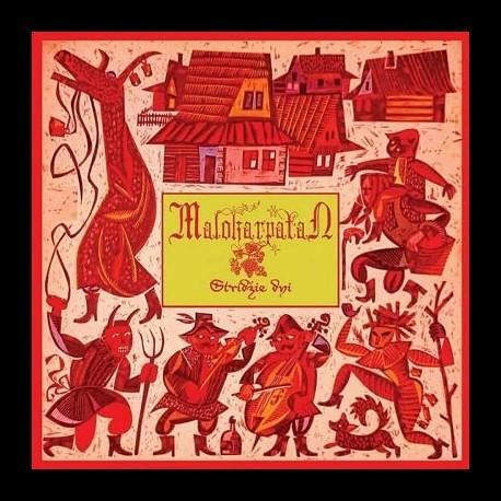 Malokarpatan - Stridžie dni, CD