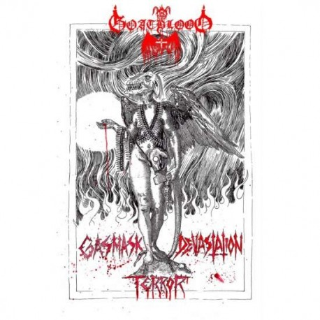 Goatblood - Gasmask Devastation Terror, Digi CD