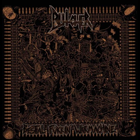 Bütcher - Bestial Fukkin' Warmachine, LP