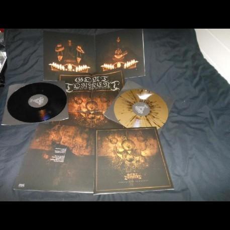 Goat Torment - Dominande Tenebrae, LP (gold with black splatter)