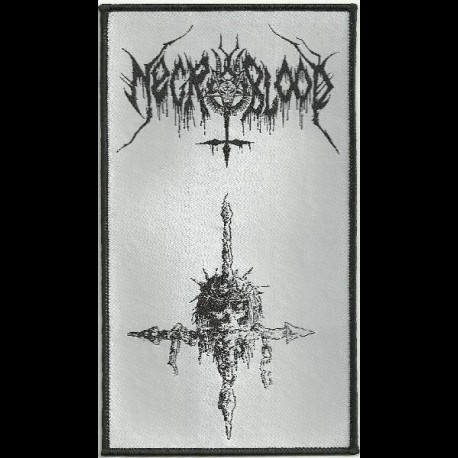 Necroblood - Cross, Patch
