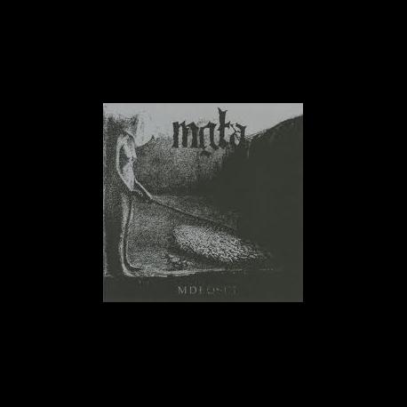 Mgla - Mdlosci + Further Down The Nest, CD