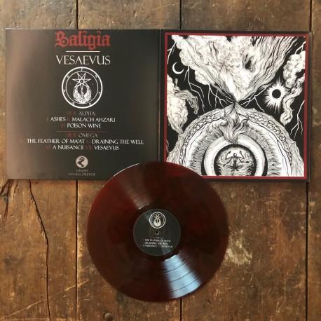 Saligia - Vesaevus, LP (red)