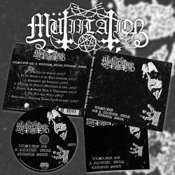 Mutiilation - Remains Of A Ruined, Dead, Cursed Soul, Digi CD