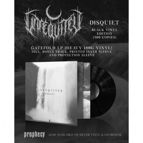 Unreqvited - Disquiet, LP