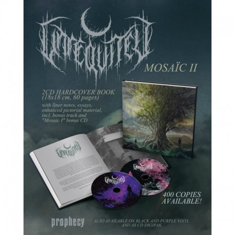 Unreqvited - Mosaic I & II, 2-CD-Book