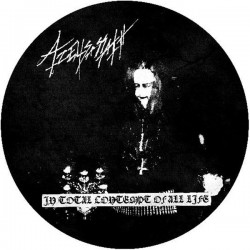 Azelisassath - In Total Contempt of All Life, Pic LP