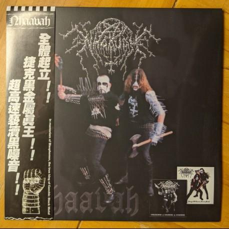 "Nhaavah - ""Kings Of Czech Black Metal"" 1998 & ""Determination - Detestation - Devastation"" 1999, LP"