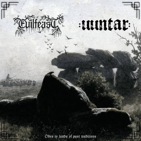 Evilfeast / Uuntar - Odes to lands of past traditions, LP