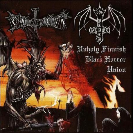 Bloodhammer / Black Beast - Unholy Finnish Black Horror Union, CD