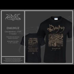 Dauþuz - Grubenfall 1727, Shirt