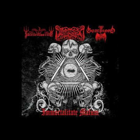 Dethroned / Sacrilegious Rite / Goatblood - Immortalitate Malum, CD