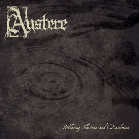 Austere - Withering Illusions And Desolation, LP (smoke)