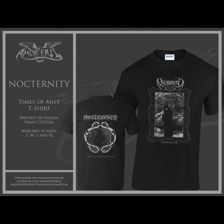 Nocternity - Times of Ashes, Shirt