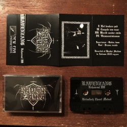 Ravenzang - Rehearsal III, Tape