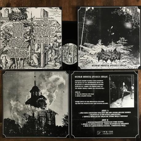 Digerdöden - Genom Dödens Svarta Törst, LP