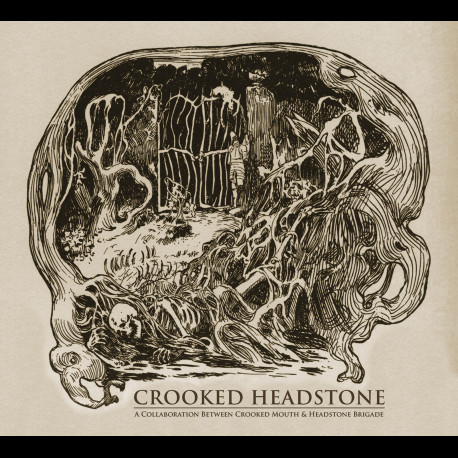 Crooked Mouth & Headstone Brigade - Crooked Headstone, Digi CD
