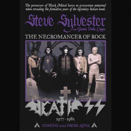 Steve Sylvester (Death SS) - The Necromancer Of Rock, Book