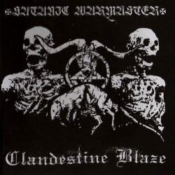 Clandestine Blaze / Satanic Warmaster - Split, CD
