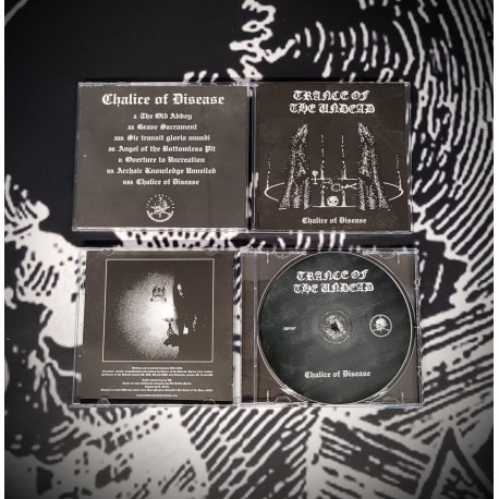 Trance Of The Undead - Chalice of Disease, CD