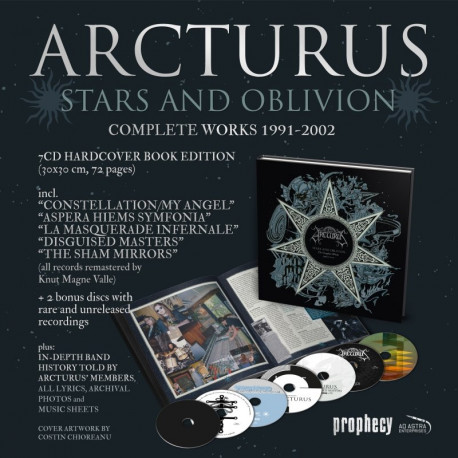 Arcturus - Stars and Oblivion, 7-CD Box + Artbook