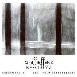 Essenz - KVIITIIVZ - Beschwörung des Unaussprechlichen (white vinyl + patch), DLP