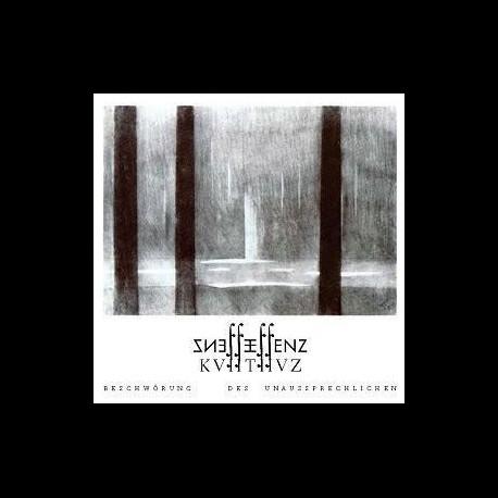 ESSENZ - KVIITIIVZ - Beschwörung des Unaussprechlichen (black vinyl), DLP (Corner Bend)