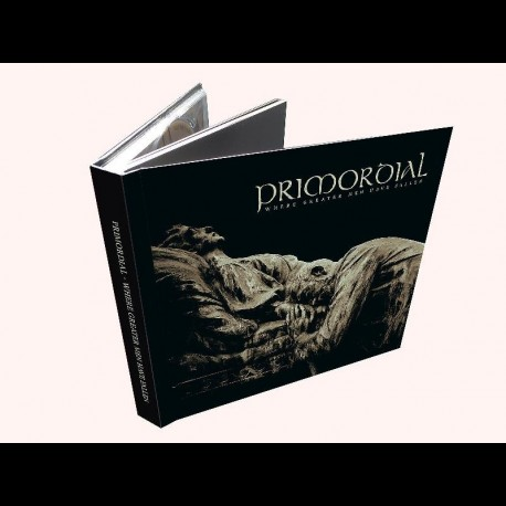 Primordial - Where Greater Men Have Fallen, Digibook CD + DVD