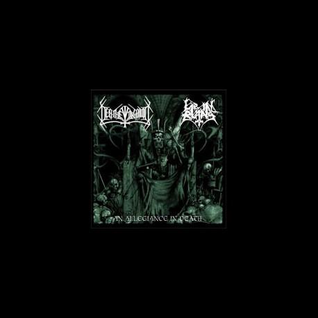 Deathevocation/Lie in Ruins - Split (black or green vinyl), EP